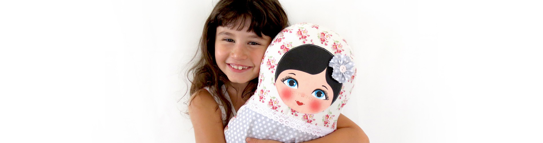Toola dolls are soft , huggable, snuggable... girls just love them!